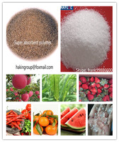 Potassium polyacrylate and sodium polyacrylate SAP for agriculture