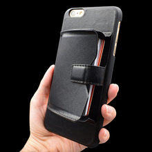 Multifunctional Leather Case for Iphone 6 Back Case with Card Holder