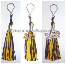 Royal Golden Rayon Chainette Handmade Tassel Fringe