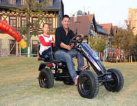 Best selling China manufacture adult pedal car/go kart for adult