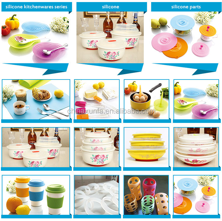 Non-stick eco-friendly heat resistant home silicone food mat