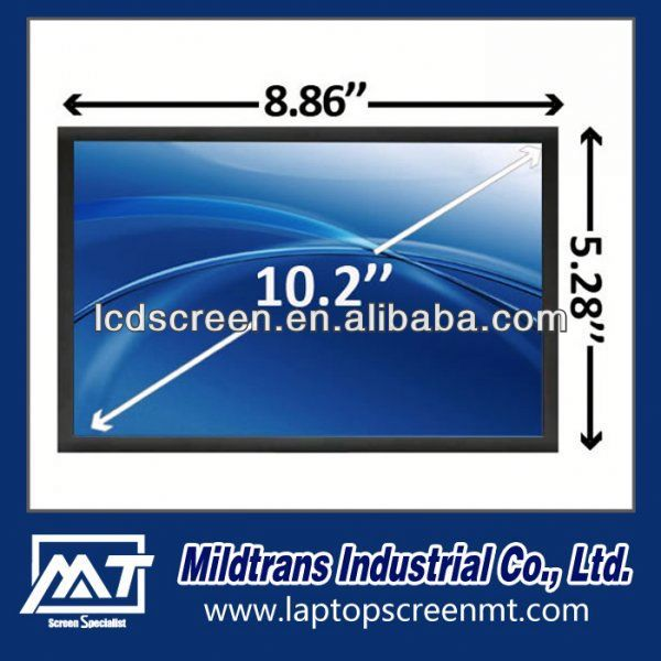 Laptop screen 10.1 LED HSD100IFW4-A00 laptop lcd screen te...