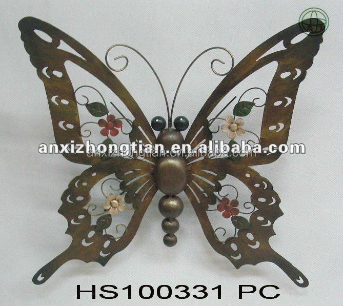 2010 New-type Metal Butterfly Wall Decor