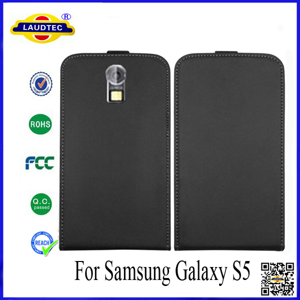 In Stock For Samsung Galaxy S5 Ultra Slim Leather Flip Case