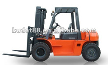 articulated forklift CPCD50 for hot sale (4wd forklift , 5000kgs capacity forklift)