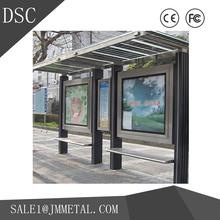 2017 New Arrival Painting/Welding/Polishing steel structure bus stop shelter