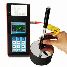 Hot sale color LCD display portable hardness tester with wholesale price