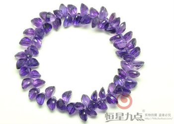 2015 Best Selling Retail Items Natural Amethyst Stone Bracelet