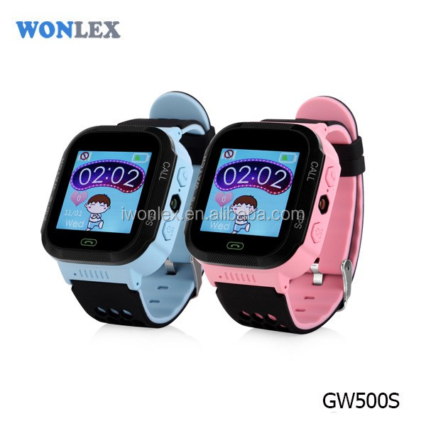 Kid Smart watch WONLEX GW500S GPS phone position SOS emergency alarm Electric fence for kids