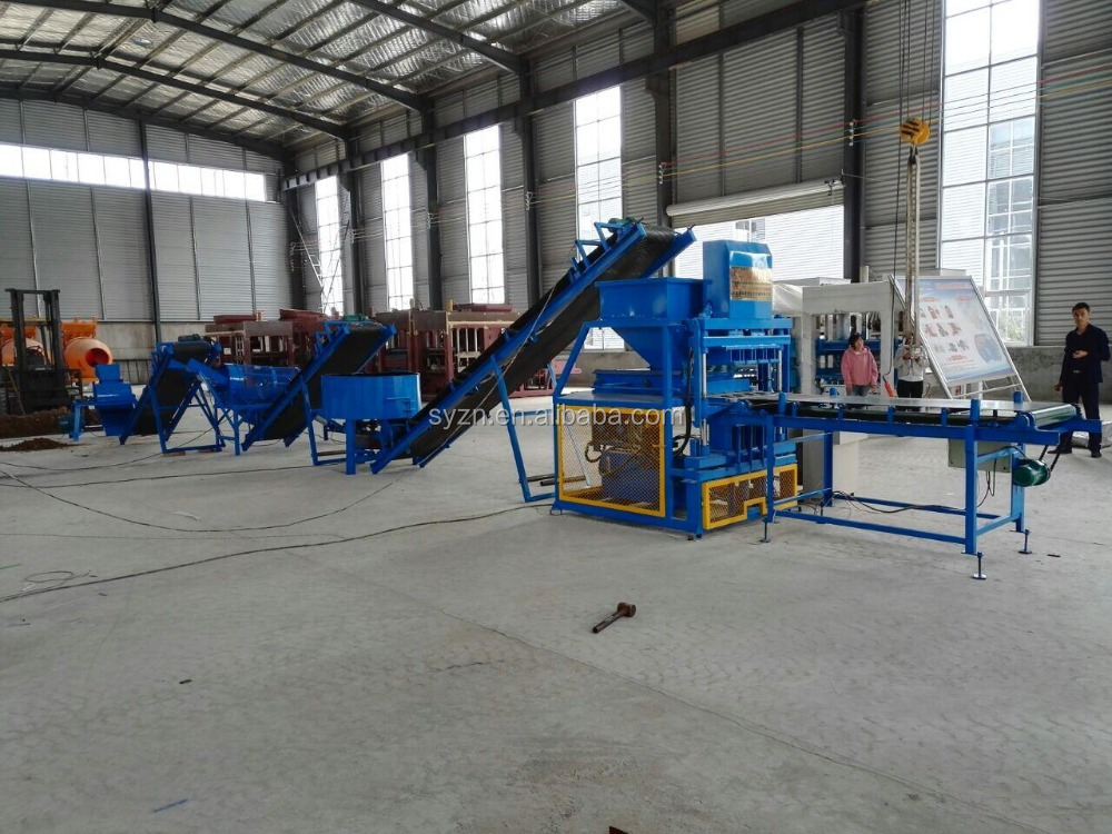 LY4-10 interlocking compressed earth block machines