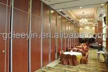 soundproof room divider movable partition for hotel/ conference room/ library/ gymnasium/ banquet hall/ museum/ exhibition