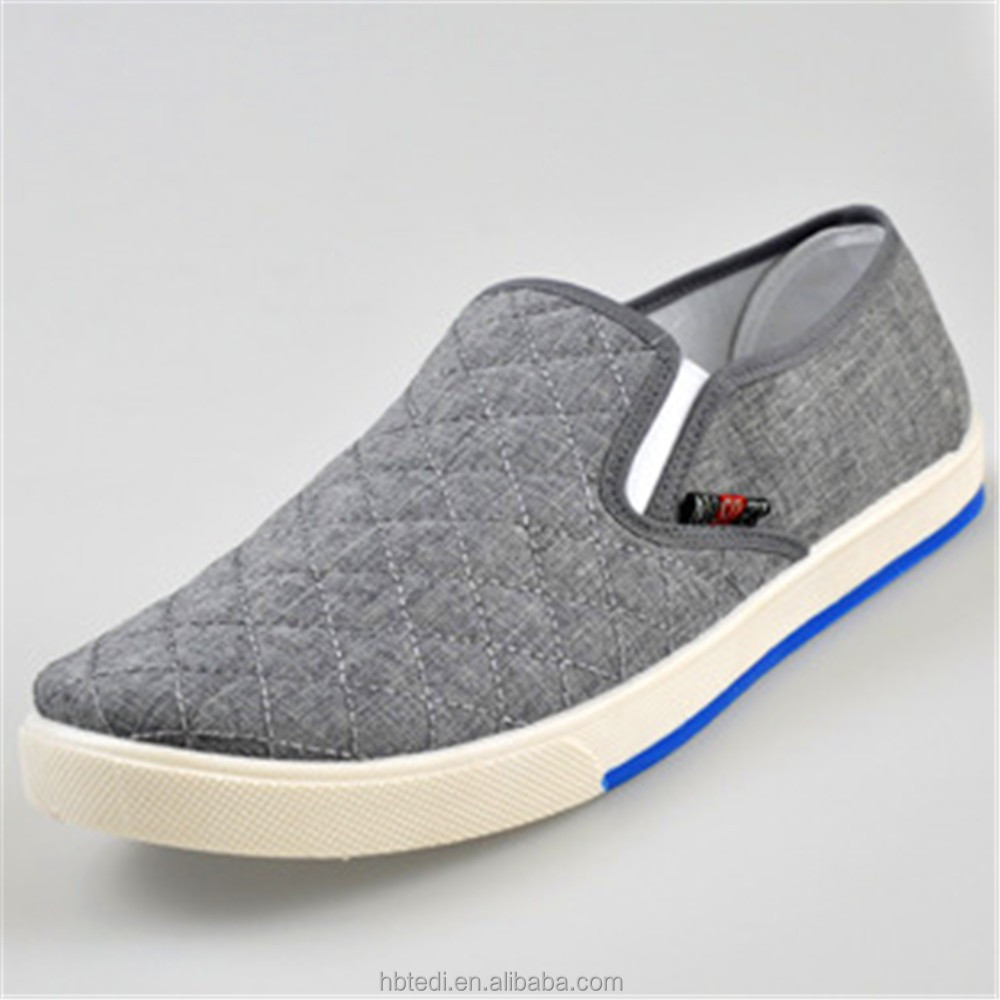 2017 fashion colorful casual new men shoes summer canvas footwear all size with fabric sole