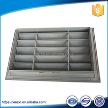 HVAC aluminum linear bar grille air metal floor register linear air diffuser size