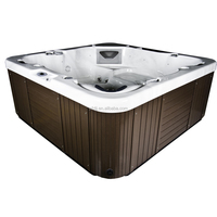 2016 new design balboa acrylic portable corner hot tubs outdoor