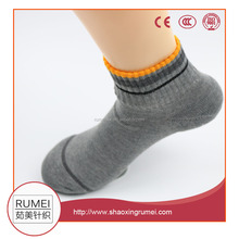 bulk wholesale high quality plain knitted custom sport men socks