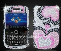 Hot Diamond Cell Phone Snap on Case Covers for BlackBerry Curve 8520