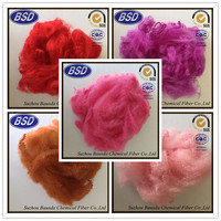 bright psf 1.2d recycled polyester fiber