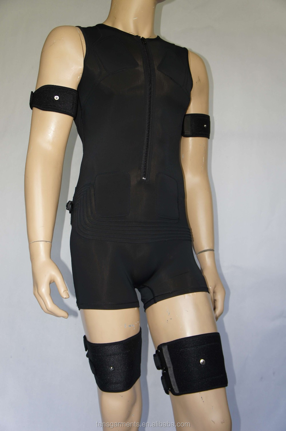 amplitrain ems, ems training suit easy motion skin