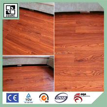 Wood PVC Plank Loose Lay Vinyl Flooring Solid Black Color Heavy Duty PVC Floor Tile