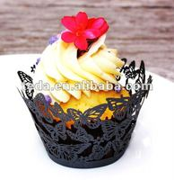 wedding wholesale cupcake liners wrappers butterfly