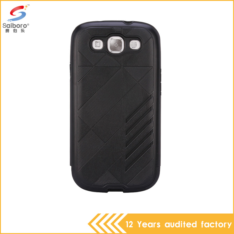 2017 hot new products 2 in 1 shockproof phone case for samsung galaxy s3 i9300