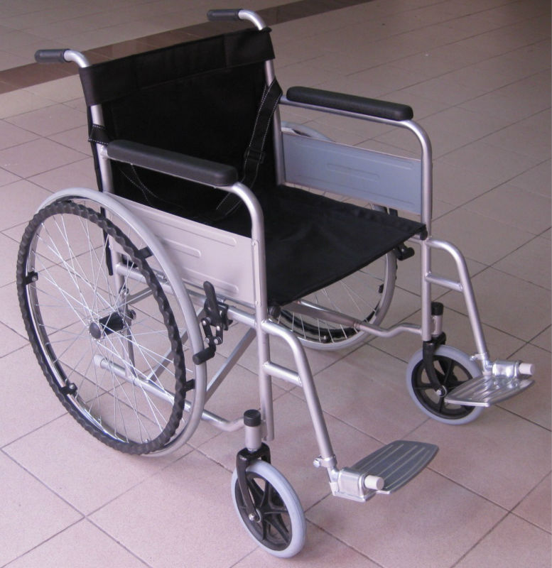Malaysia retail online trading shop selling solid tyre wheelchair for buy at very cheap low economic affordable price