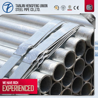Hot dipped Galvanized steel pipe with Stocket