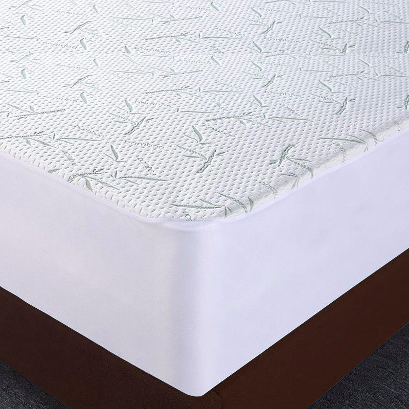 BambooBamboo Fiber Mattress Protector Mattress Cover Antibacterial Anti Mite Waterproof home textile bedding Wholesale - Jozy Mattress | Jozy.net