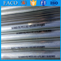 steel structure building materials ! galvanized oil pipe bs1387 greenhouse galvanized tubular structure