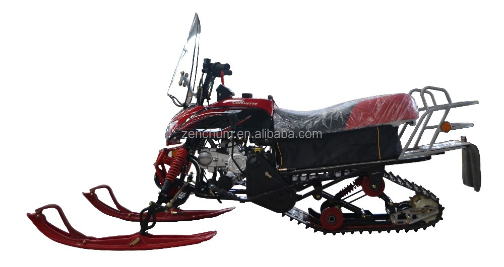 125cc Automatic and Electric Start Chain Drive T125 sports / utility Sleds Snowbike Snow Mobile Sleigh Snowmobile