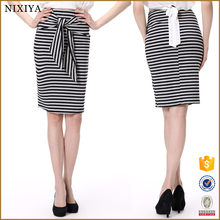 New style women Pretty Steps women skirt simple strips skirt