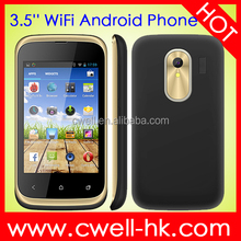 ECON T328W android celular 3.5 Inch Capacitive Touch Screen Android 4.4 cheap smartphone