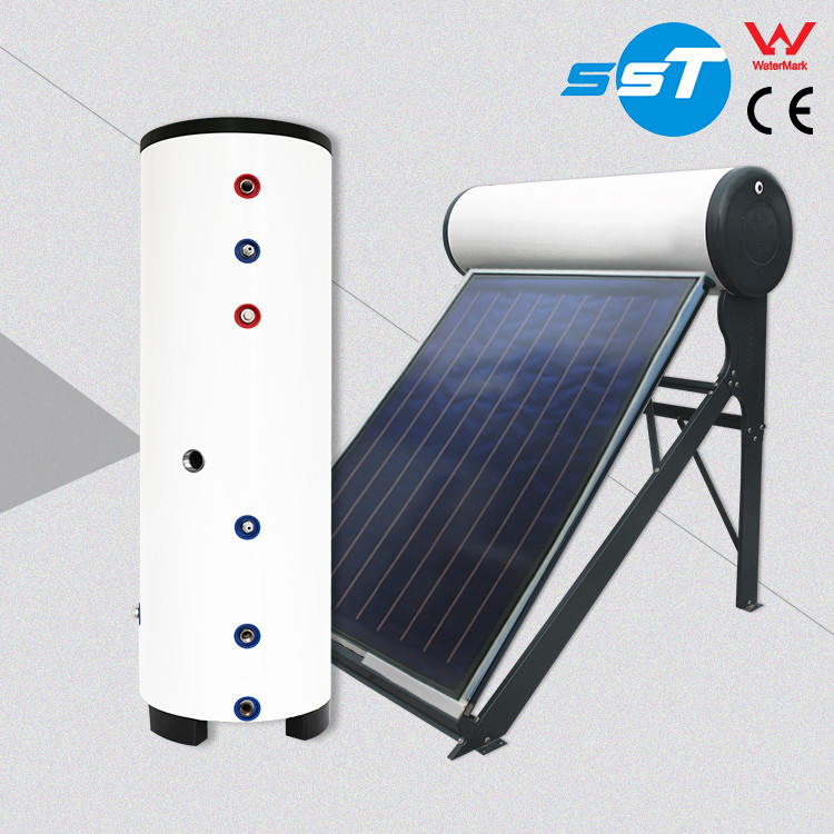 High efficiency portable quick hot shower water geyser,300L duplex stainless steel factory solar geyser wholesale price,mini sol