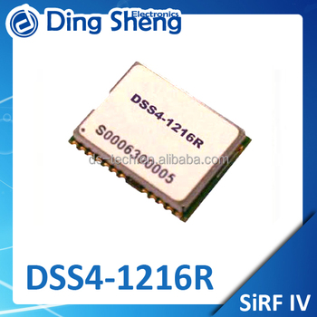 DSS4-1216R GPS SiRF Star IV GPS Engine Board Power supply 3.3V