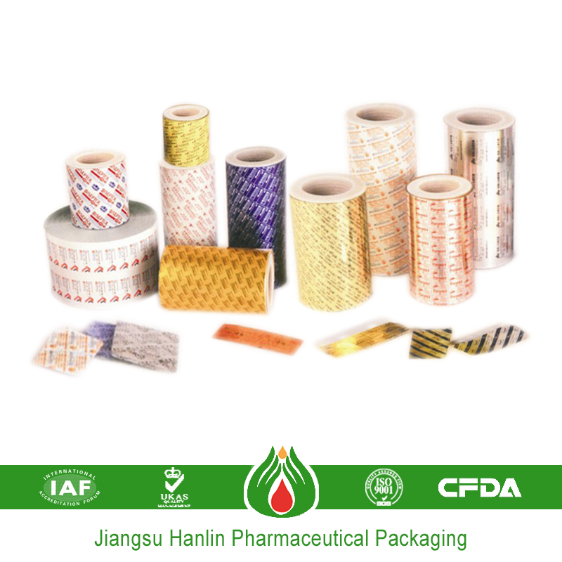 Medication PTP printed Aluminum Foil Blister Packaging