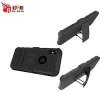 China Market belt clip holster for iphone x case hybrid heavy duty,for iphone x belt clip case cover