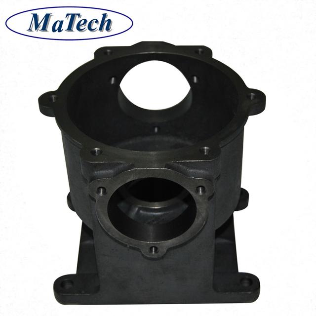 Custom Agriculture Machine Iron Casting Gear Box Transmission