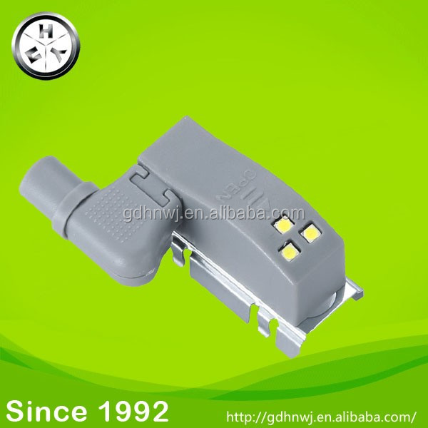 dismountable cabinet hinge LED light with battery