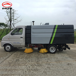 2.5 m3 truck mounted Vacuum Road Sweeper - Superstructure only