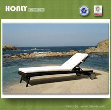 Waterproof outdoor furniture beach sofa bed