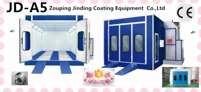 2016 new automotive spary baking booth/furnaces ce JD-A5