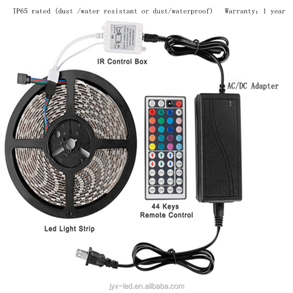 factory wholesale 5050 addressable rgb led strip