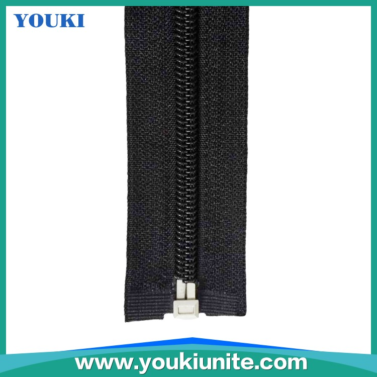 5# Woven Tape Nylon Zipper Open-end With Auto Lock Normal Slider YKN-2022