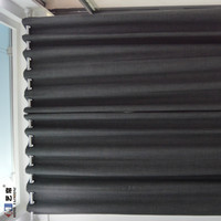 Simple design wholesale window curtain drapes custom made 100% blackout curtain