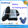 HOT!!! Rechargeable li-ion battery 7.4v 1800mah li-ion polymer battery for electrothermal gloves/heating warm products