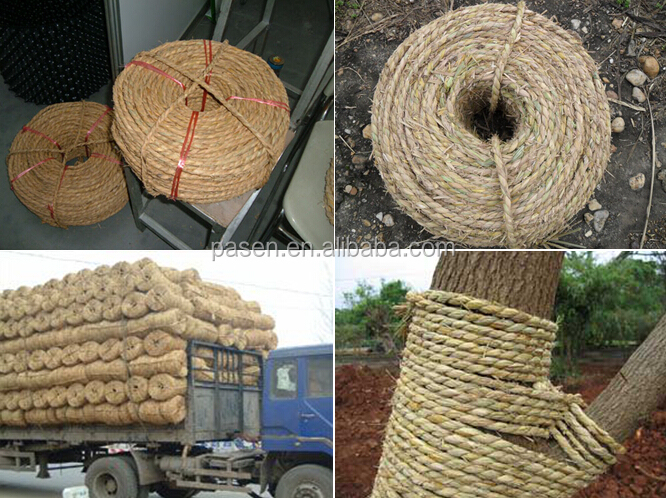 Knitting Rope For Sale : Portable home use straw rope making machine