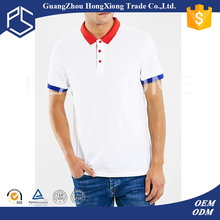 Free shipping 50% cotton 50% polyester mans fitted mountain sun wear blank polo t-shirts