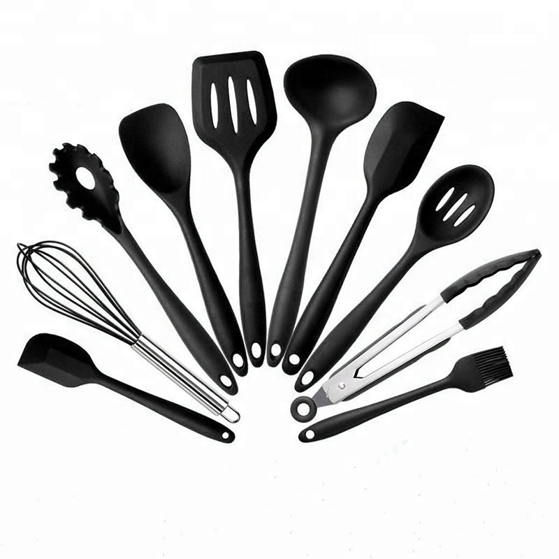 gadgets 2018 cuisine 10 pcs kitchen <strong>set</strong> quality chinese products silicone kitchenware kitchen accessories kitchen utensil <strong>set</strong>