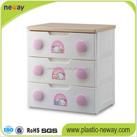 kids toy customized plastic storage drawer plastic cabinet