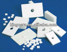 Wearing resistant alumina ceramic for cement industry